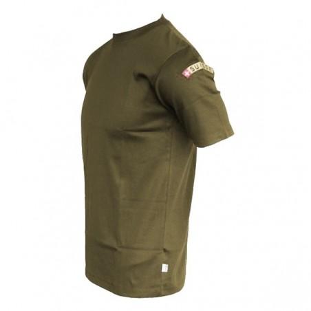 T-Shirt SUISSE - oliv