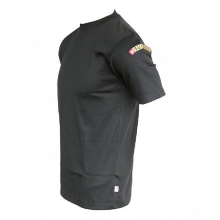 T-Shirt SUISSE - schwarz