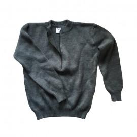 Militär Pullover - grau