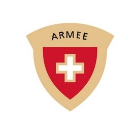 Pin - Schweizer Armee - vergoldet