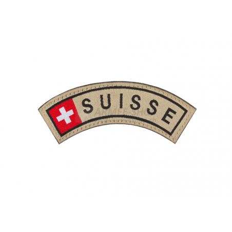 Suisse Tab Patch - Small