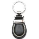 Swiss Military - Schlüsselanhänger aus Leder - schwarz
