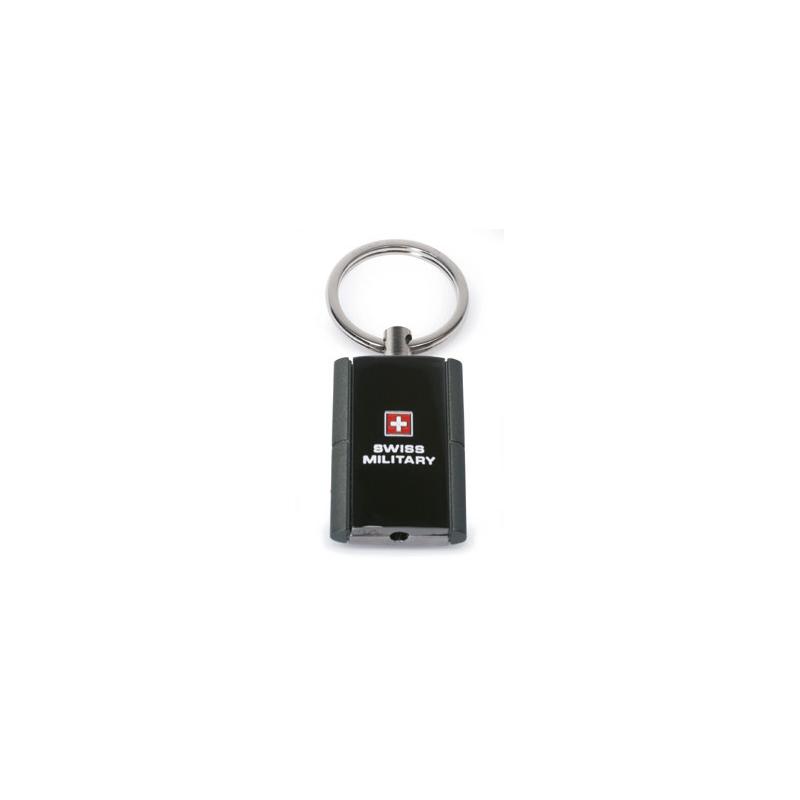 Swiss Military - Schlüsselanhänger mit roter LED-Lampe
