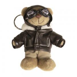 Schlüsselanhänger - Teddy Pilot