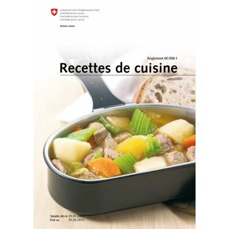 Armée Suisse - Recettes de cuisine