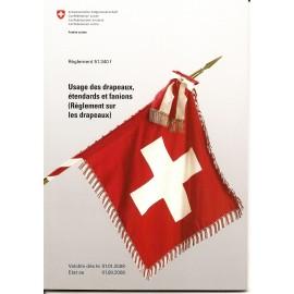Armée Suisse - Règlement sur les drapeaux