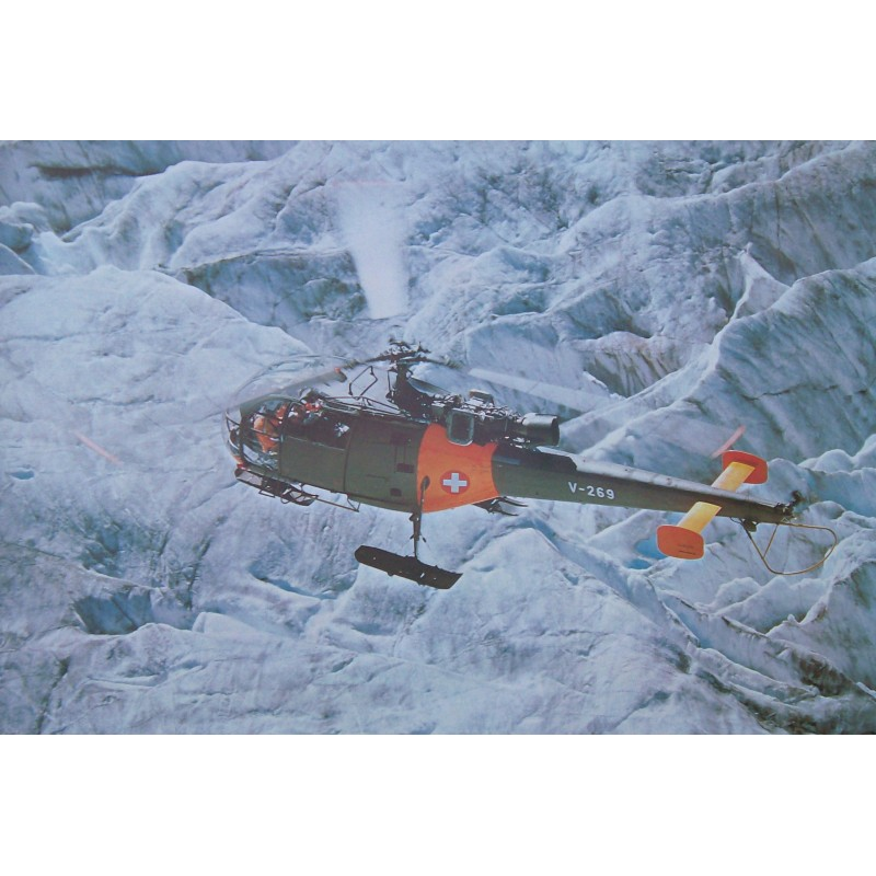 Fotoposter - Helikopter Alouette 3
