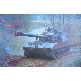 Fotoposter - Panzerhaubitze 88