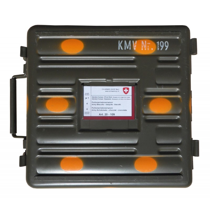 Minenwerfer-Köfferli - ARMY FOOD