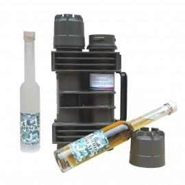 CH-Kirsch und CH-Vieille-Prune in Mun Behälter
