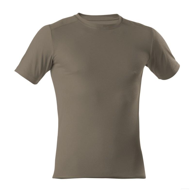 T-Shirt 1/4 - Unisex - oliv