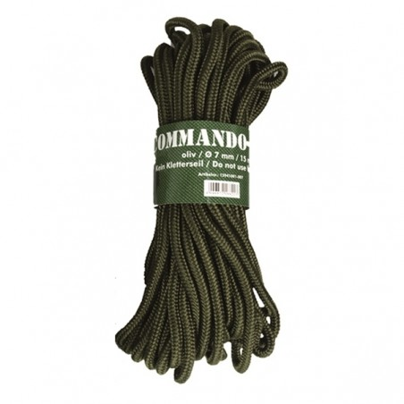 Commando-Seil - 15 m / Ø 7 mm