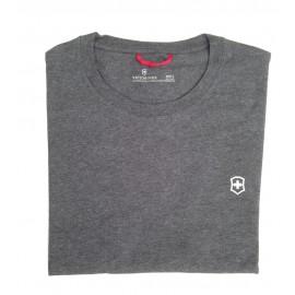 T-Shirt mit Victorinox-Logo - anthrazit