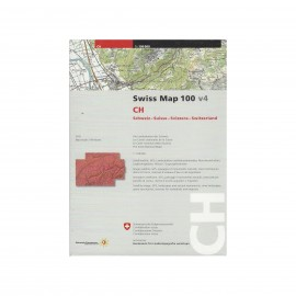 CD-ROM - Swiss Map 100 v4