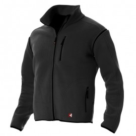 Fleece-Jacke zip-off - Man - schwarz