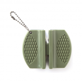 Messerschärfer - oliv