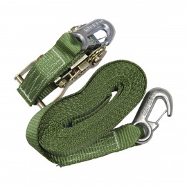Spann-Set mit Sicherheitshaken - oliv