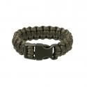 Paracord Armband - oliv