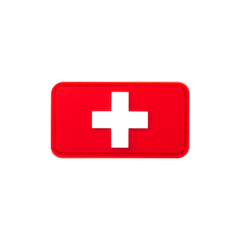 Swiss Flag Rubber Patch
