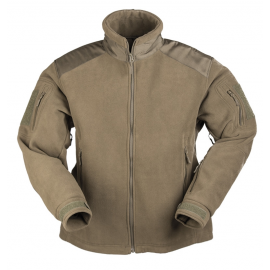 Delta-Jacket - Fleece - oliv - Grösse M