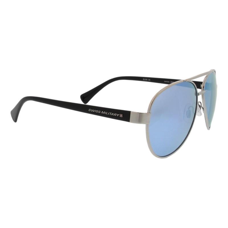 Swiss Military - FELDWEIBEL - schwarz - silber / blau