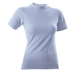 T-Shirt 1/4 - Lady - blau - Grösse L