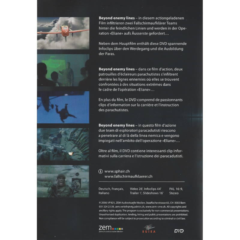 Beyond enemy lines - DVD