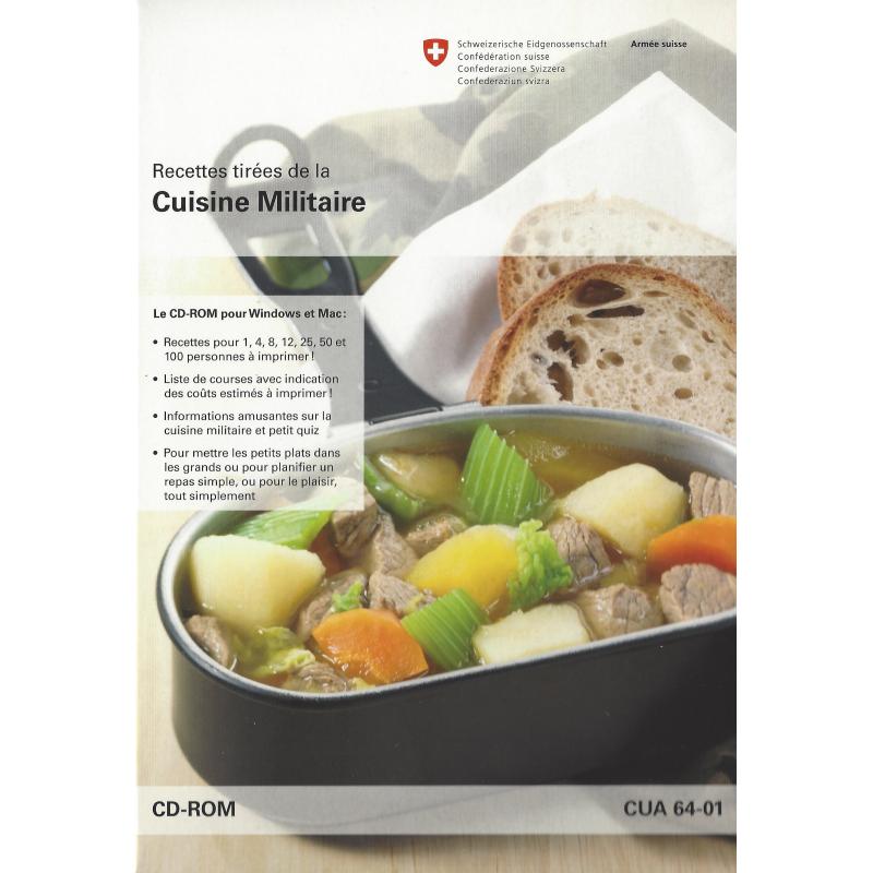 Recettes tirées de la Cuisine Militaire