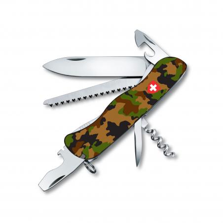 Victorinox - Forester - tarn mit Schweizerwappen - Edition2018
