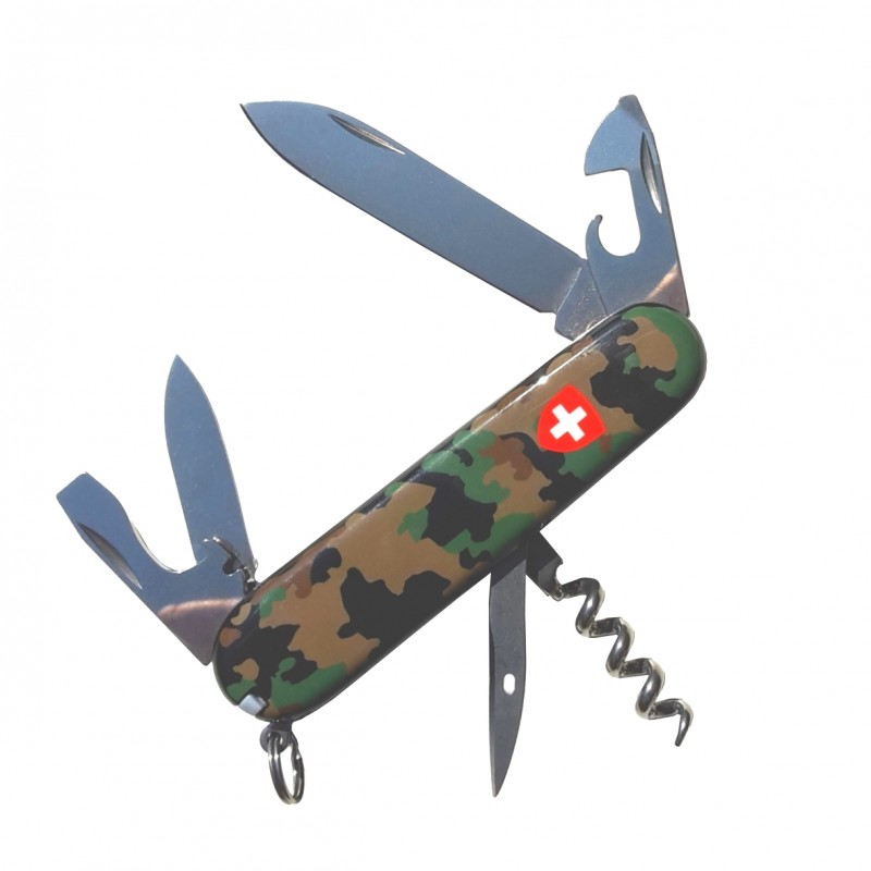 Victorinox - Spartan - tarn mit Schweizerwappen