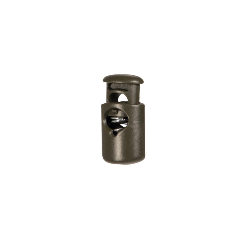 Kordelstopper - 10 Stück - oliv