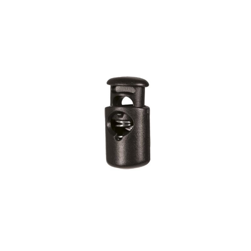Kordelstopper - 10 Stück - schwarz