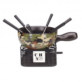 Käsefondue Set - Military