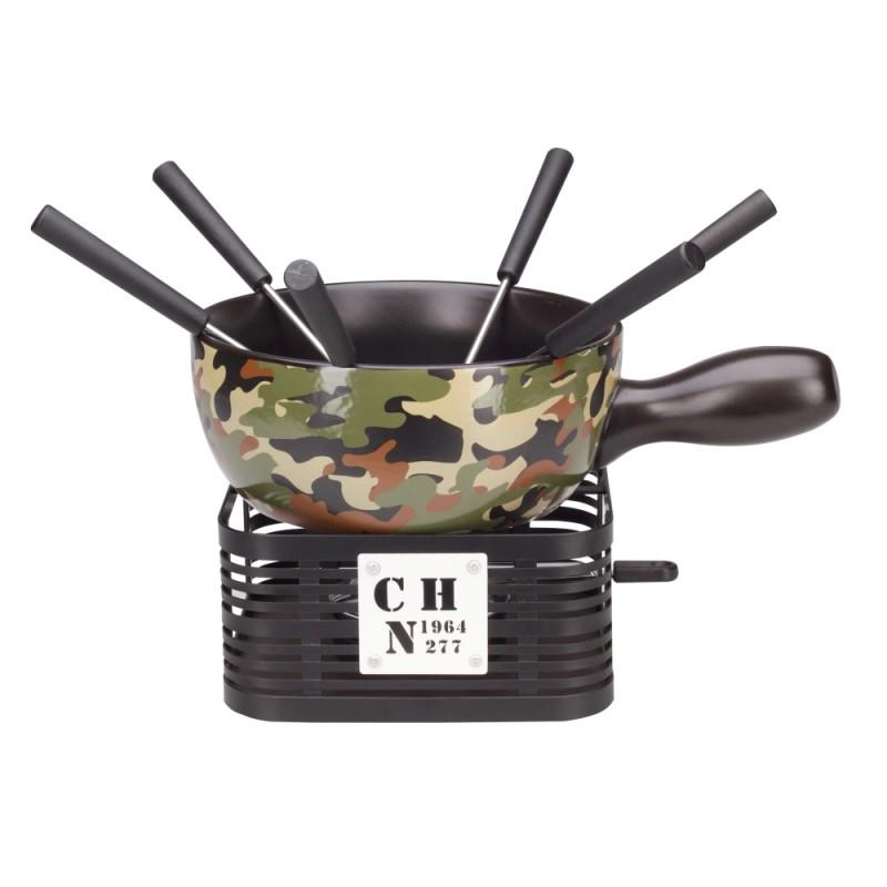 Käsefondue Set - Military