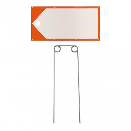 Wegweiser / Jalon-Set - weiss-orange