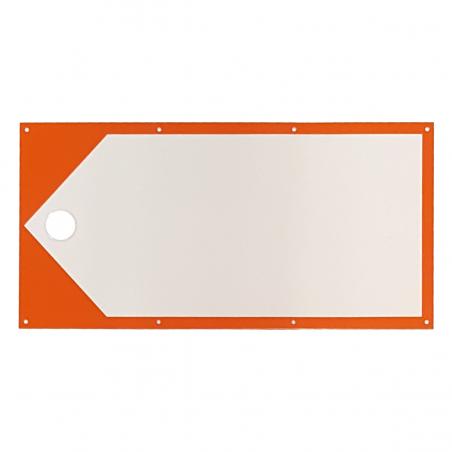Wegweiser - weiss-orange
