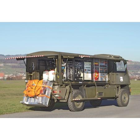 Dekontaminations-Fahrzeug