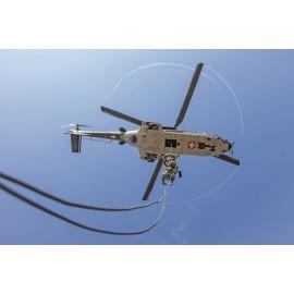 Fallschirmaufklärer bei Helikopterausbildung