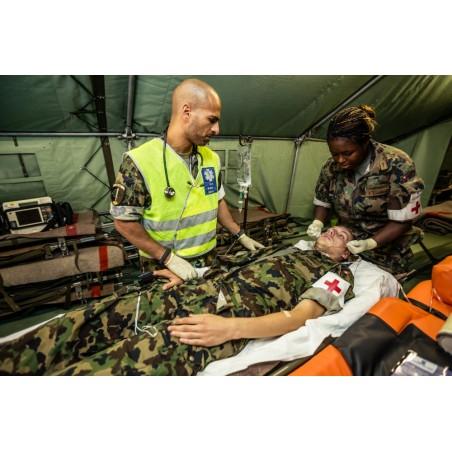 Sanitätstruppen im Feldeinsatz