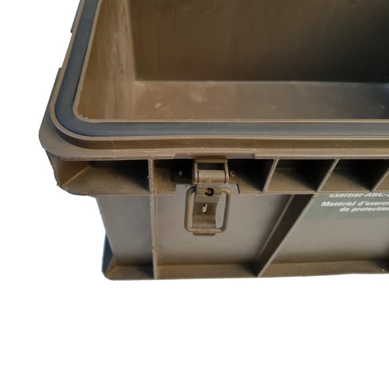 Kunststoff Kiste mit Dichtung und Deckel