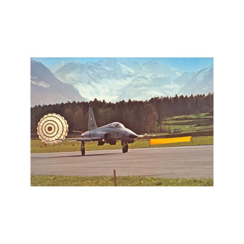 Postkarte: Flz Tiger, mit Landebremsschirm 2