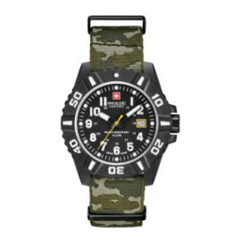Swiss Military Hanowa - Black Carbon Camo