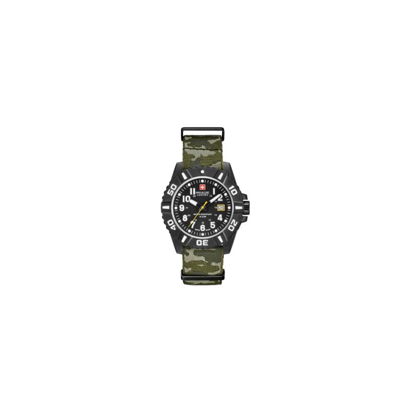 Swiss Military Hanowa - Black Carbon Camo