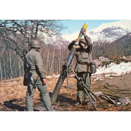 Postkarte: 12 cm Minenewerfer