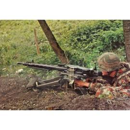 Postkarte: Maschinengewehr 7.5 cm
