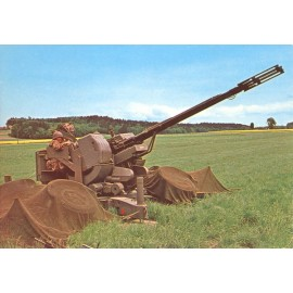 Postkarte: 35 mm Flab Kanone 63