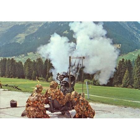Postkarte: 20 mm Flab Kanone Drilling 43/57