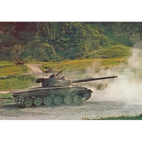 Postkarte: Schweizerpanzer 68, 38T