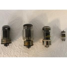 Sende-Röhren Mod. Tung-Sol, RCA, Sylvania, Philipps EGG, 4 Stück