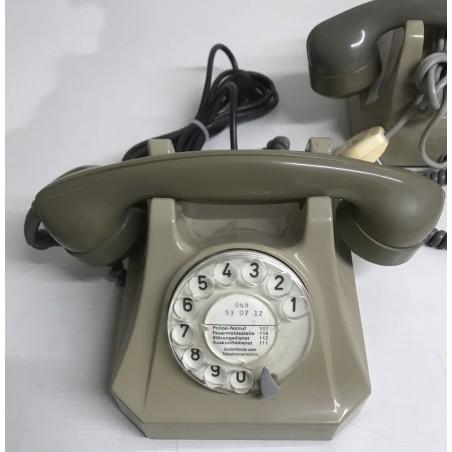 Tischtelefon PTT, beige